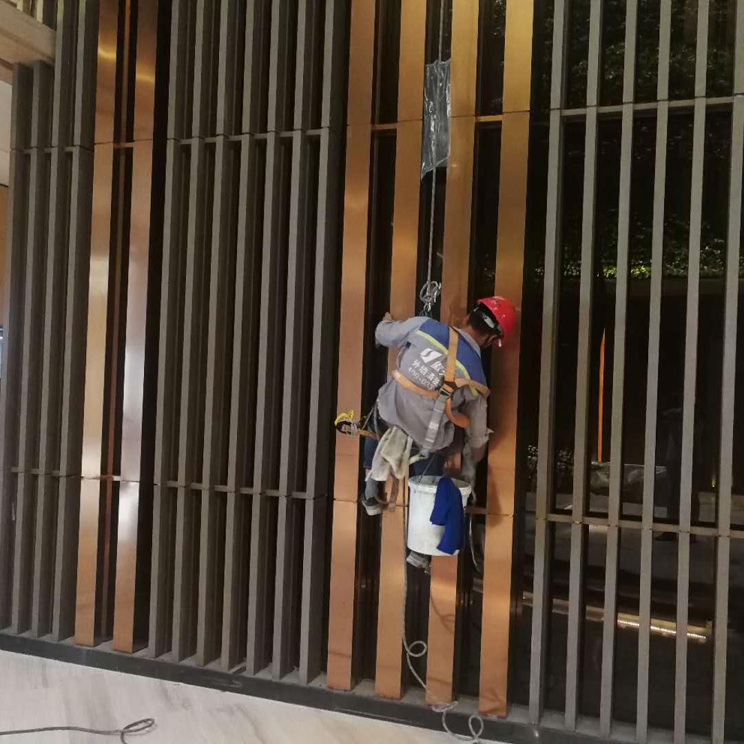 温州威斯汀酒店外墙清洗