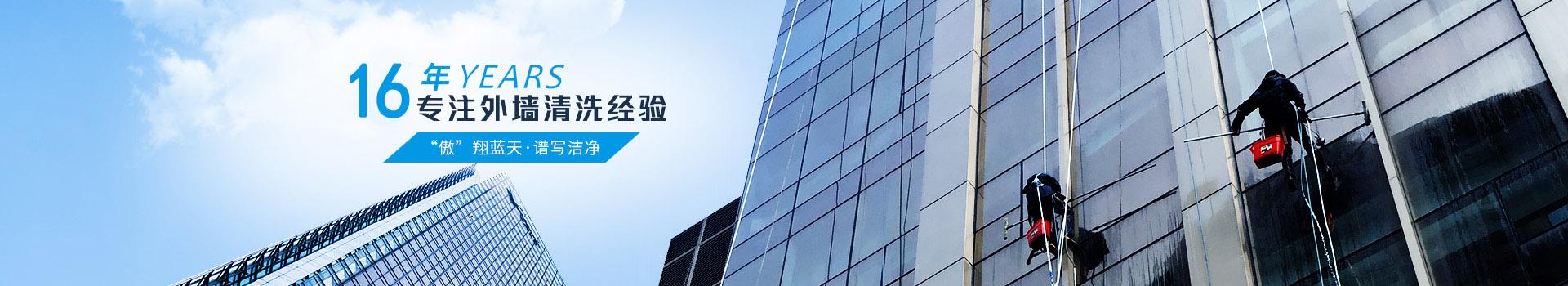傲天鸟-16年专注外墙清洗供应商